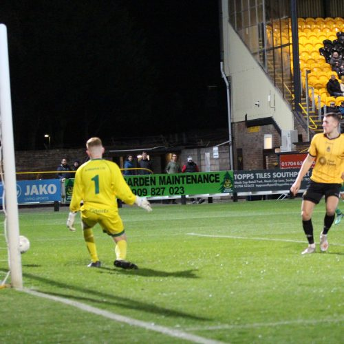 GOALS | Southport 2  Burscough 2 (Southport win 5-3 on pens)