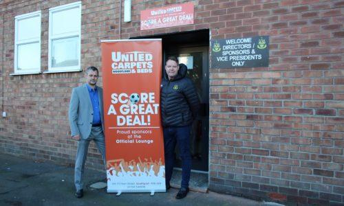 SPONSOR | United Carpets & Beds Official Lounge