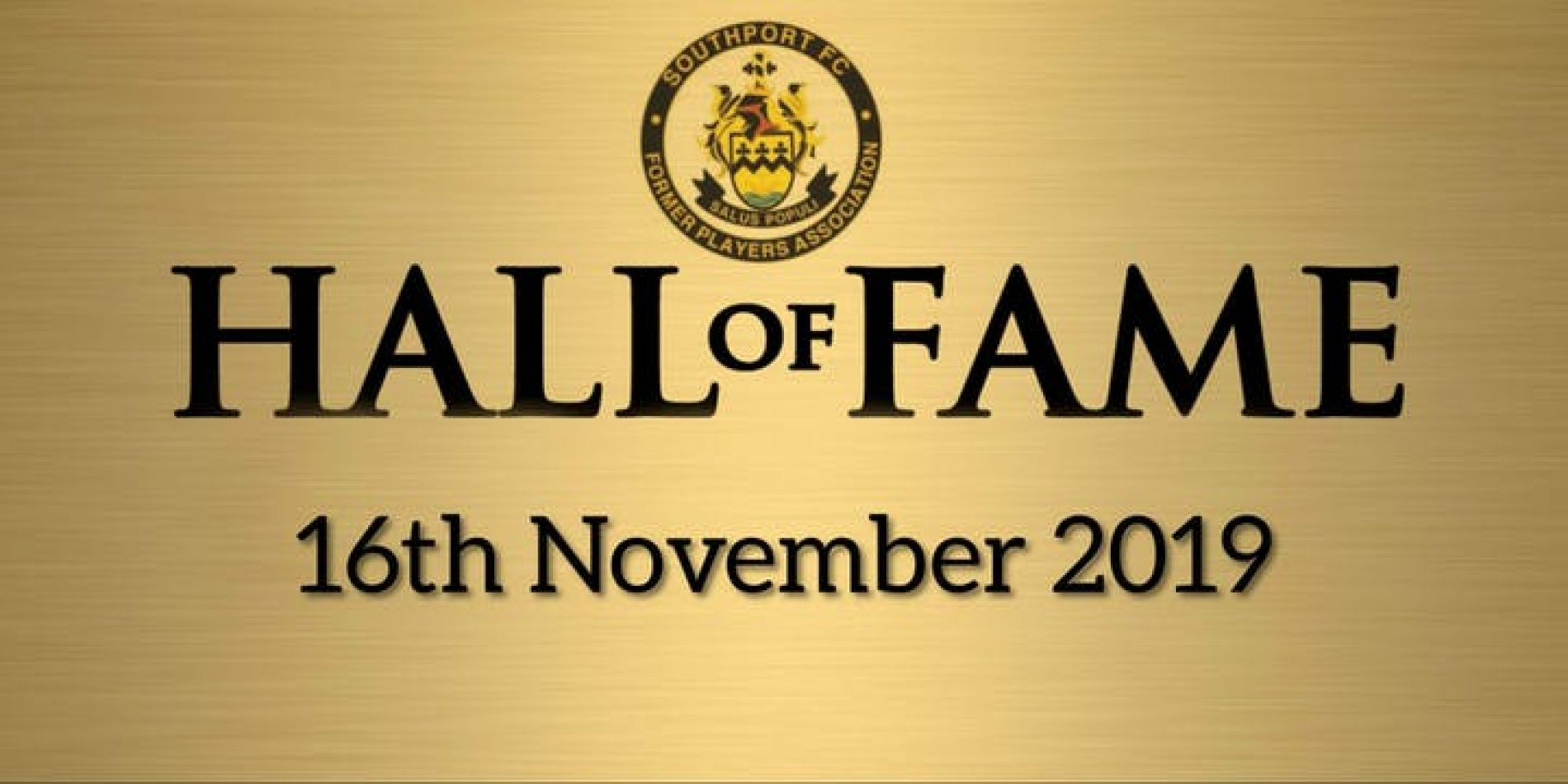 EVENT | Hall Of Fame Ceremony