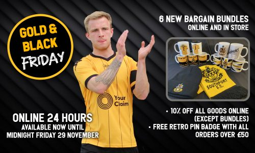 NOW ON | Gold & Black Friday