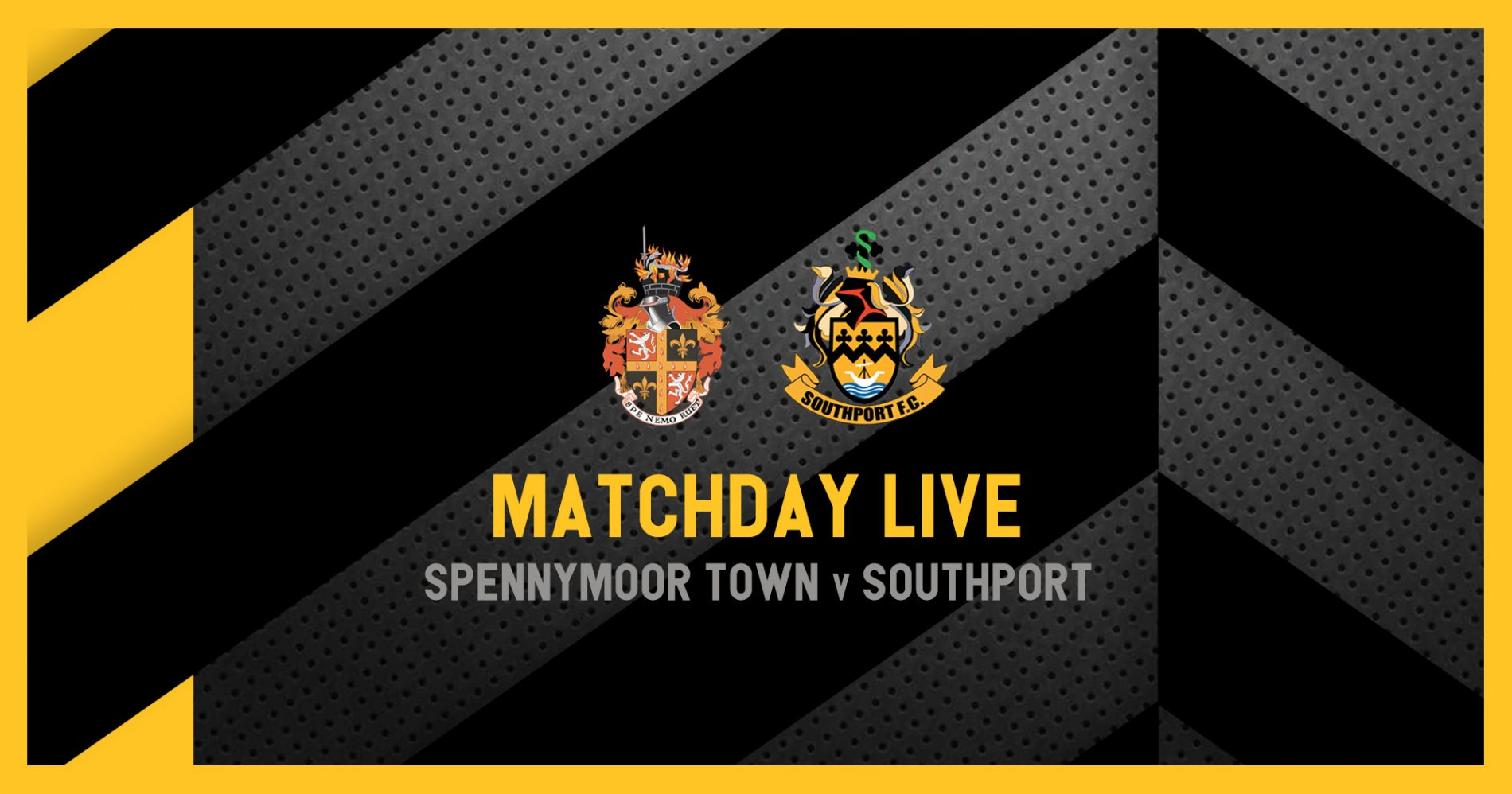 MATCHDAY LIVE | Spennymoor Town v Southport