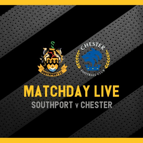MATCHDAY LIVE | Southport v Chester