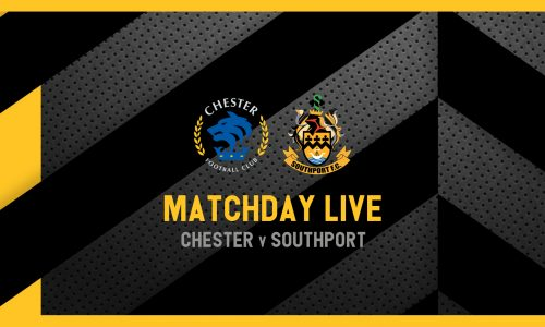 MATCHDAY LIVE | Chester v Southport