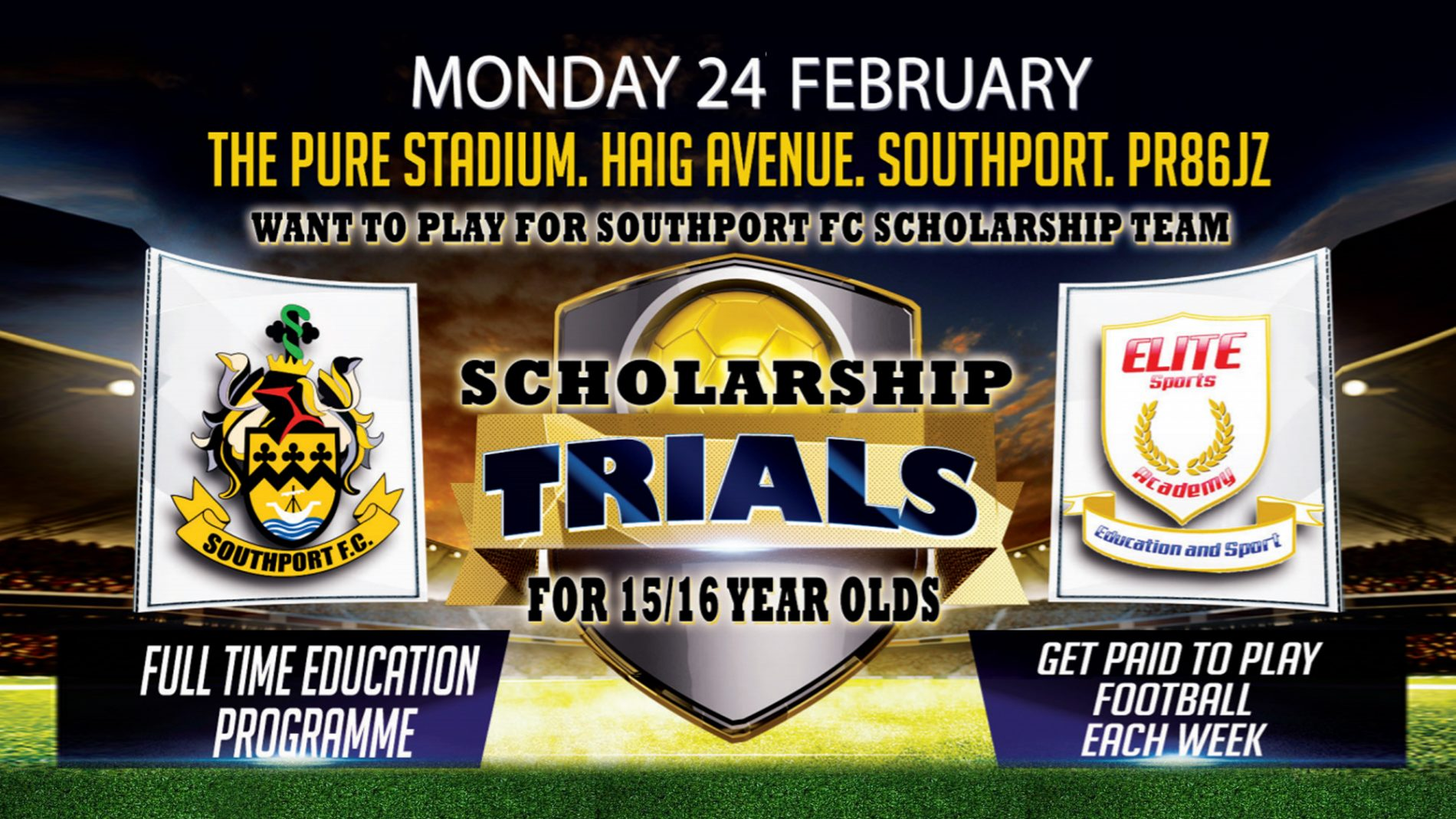 APPLY NOW | Scholarship Trials