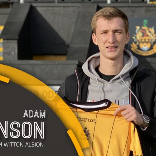 SIGNING | Welcome, Adam!