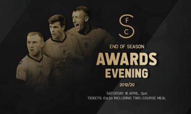 POSTPONED   End Of Season Awards