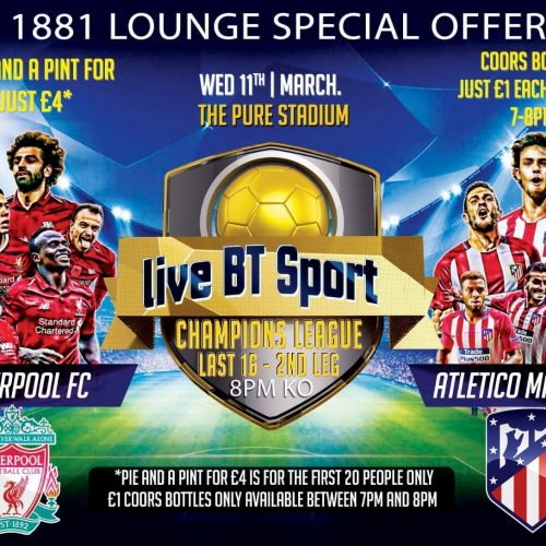 OFFER | 1881 Lounge