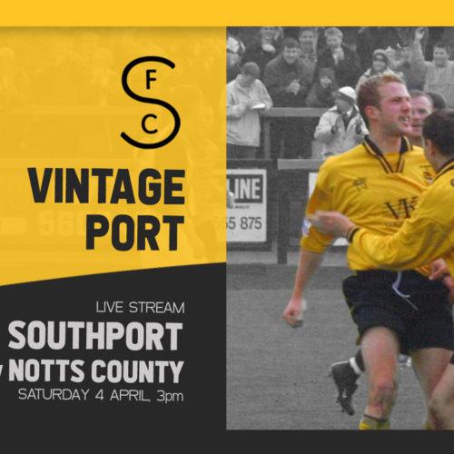 VINTAGE PORT | Matchday Programme