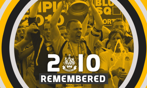 2010 REMEMBERED | Captain's Log