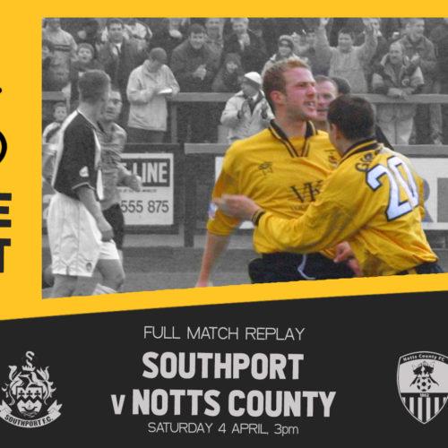VINTAGE PORT | Southport v Notts County