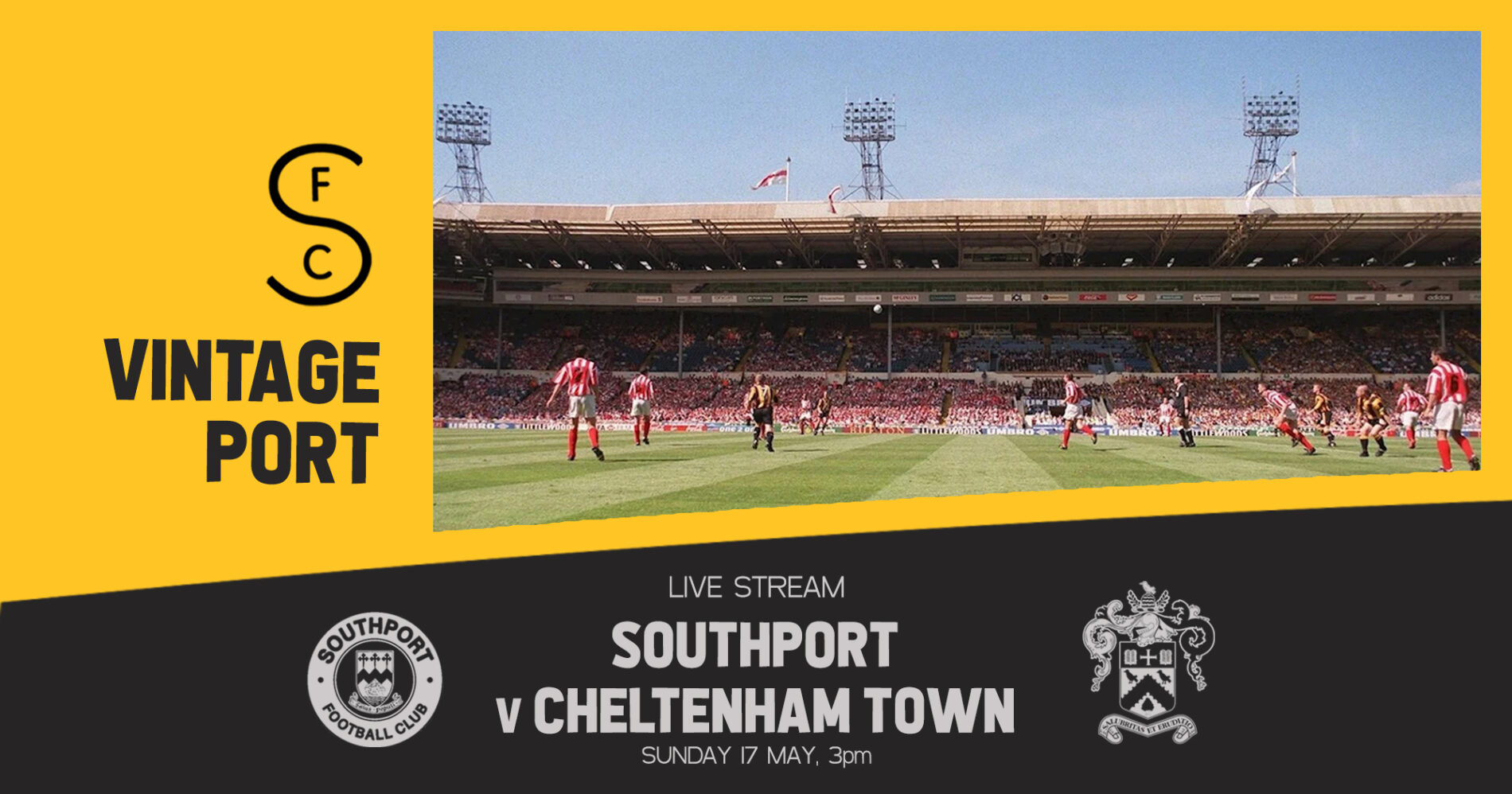 VINTAGE PORT | Southport v Cheltenham Town