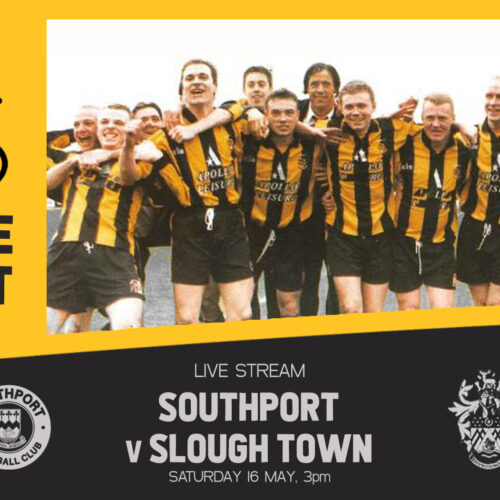 VINTAGE PORT | Southport v Slough