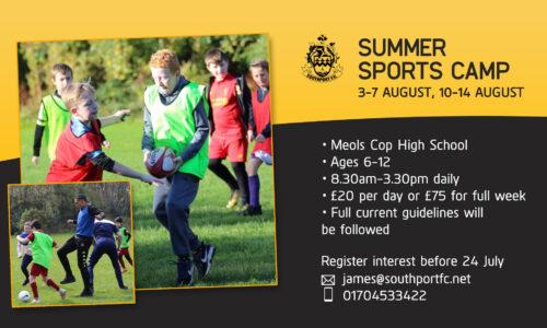 COMMUNITY | Summer Sports Camp