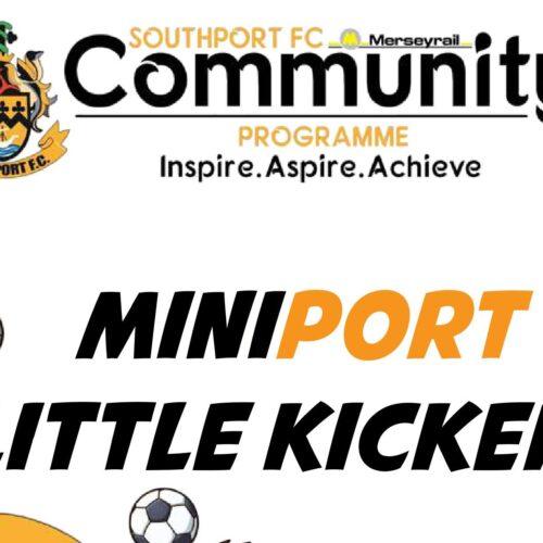 NEW   Mini-Kickers!