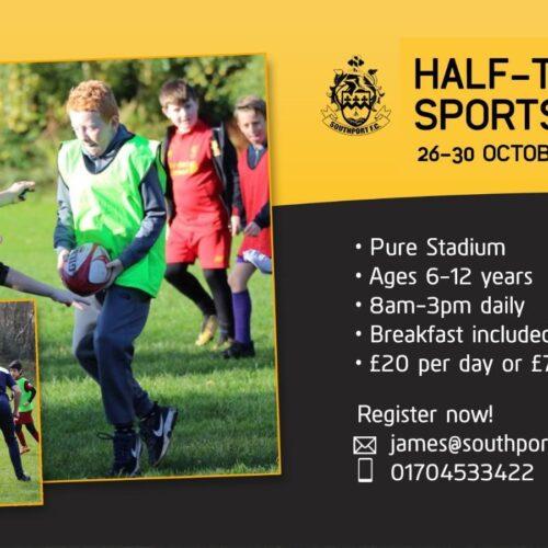 COMMUNITY | October Sports Camp