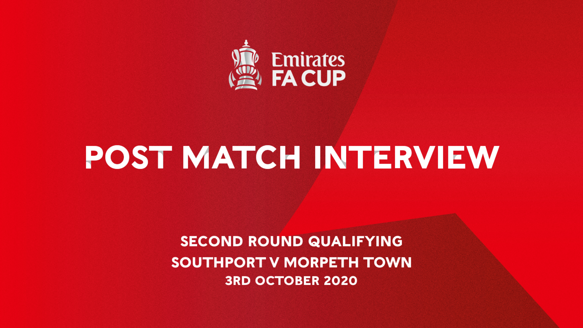 INTERVIEW   Liam After Morpeth