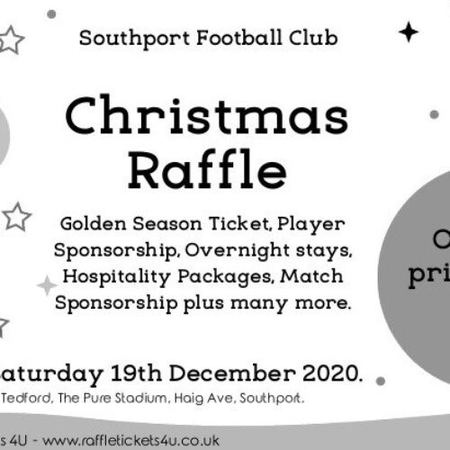 CHRISTMAS RAFFLE | Tickets Now On Sale